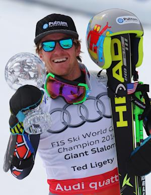 Hirscher wins overall WCup title; Ligety takes GS