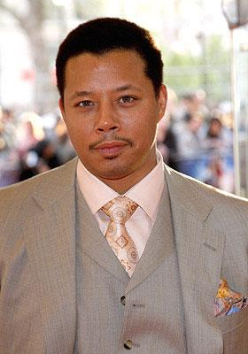 Terrence Howard at the London premiere of Paramount Pictures' Iron Man