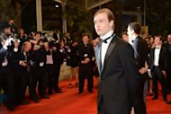 "US actor Caleb Landry Jones at the screening of ""Antiviral"" at the 65th Cannes film festival on May 19. Jones plays the role of Syd, an employee at a clinic which injects paying customers with diseases culled from the bodies of celebrities as a means of offering them an intimate bond with their idols"