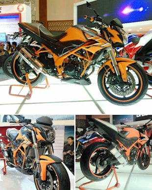 Honda CB150R Modifikasi