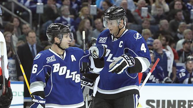 NHL: Ottawa Senators at Tampa Bay Lightning