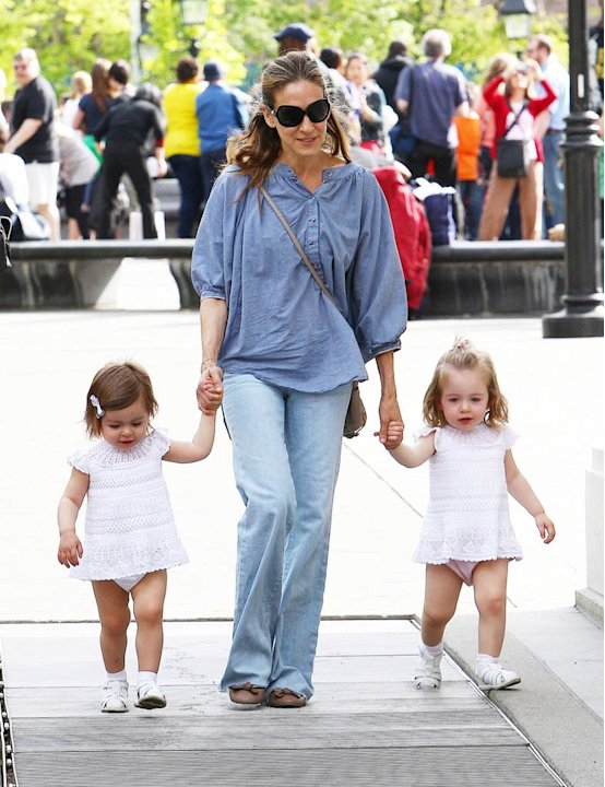 Sarah Jessica Parker With Girls