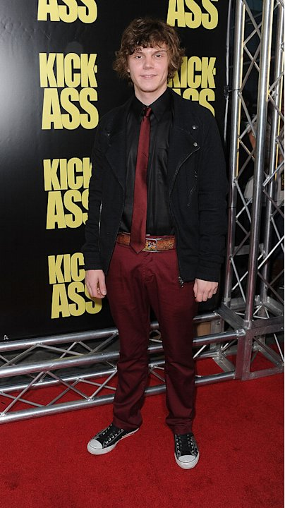 Kick Ass LA Premiere 2010 Evan Peters