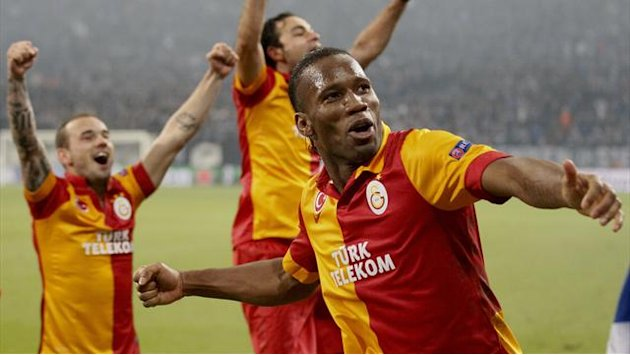 Champions League - Shades of Euro 2008 as Terim's Galatasaray battle through