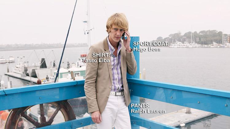 "Gabriel Mann as Nolan Ross in the Season 1 episode ""Suspicion."" Revenge"