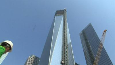 WTC site progress slow, but steady