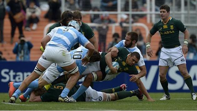 Championship - Springboks start as favourites but wary of Pumas threat
