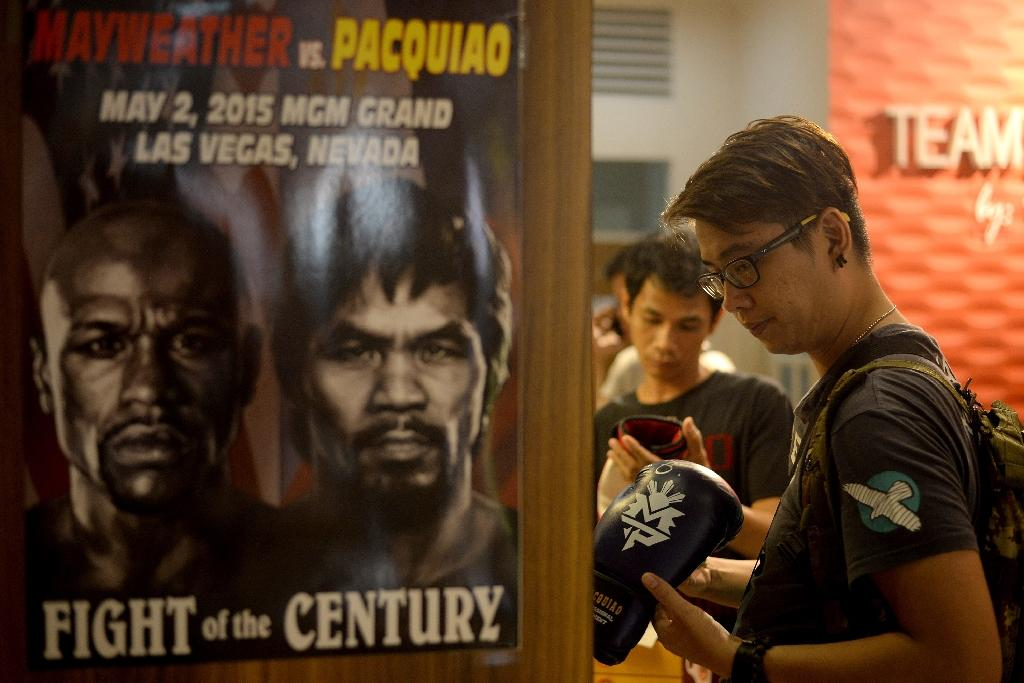 Pacmania sweeps Philippines ahead of Mayweather clash