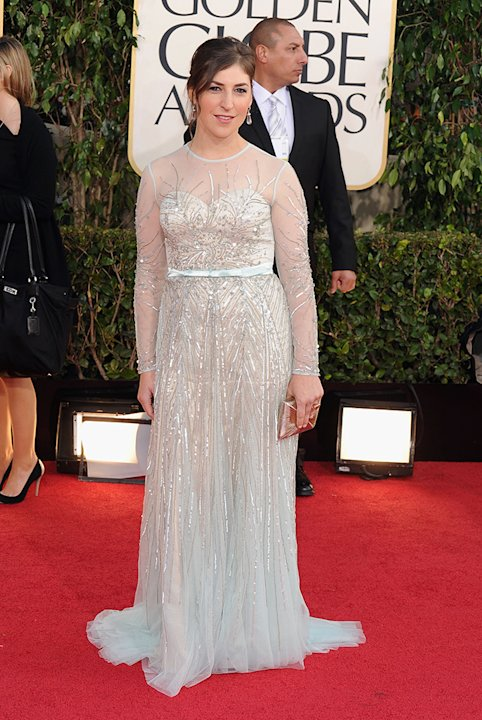 70th Annual Golden Globe Awards - Arrivals: Mayim Bialik
