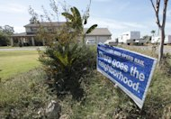 FILE -- In this Sept. 13, 2012 file photo, a sign against the proposed high-speed rail system is seen at a home near the proposed route near Hanford, Calif. Sacramento Superior Court Judge Timothy Frawley is expected to decide Friday, Nov. 16, 2012 whether to grant a preliminary injunction that would temporarily halt the project. Groups representing Central Vally farmers claim in the lawsuits that the California High Speed Rail Authority failed to conduct through environmental reviews and comply with public meeting laws. (AP Photo/Rich Pedroncelli, file)