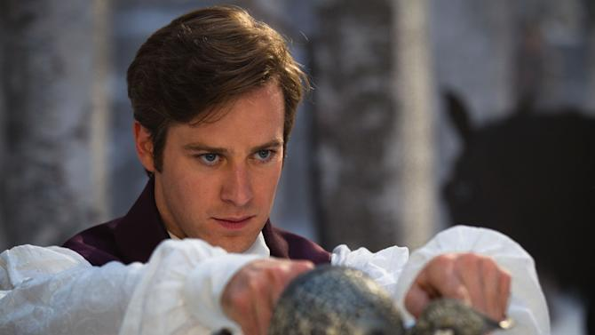 """In this film image released by Relativity Media, Armie Hammer is shown in a scene from, """"Mirror Mirror."""" (AP Photo/Relativity Media, Jan Thijs)"""