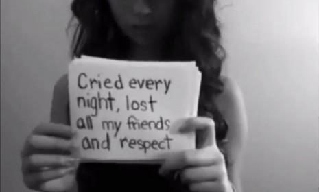 In a confessional video posted to YouTube in September, Amanda Todd describes the torment her virtual attacker caused her.