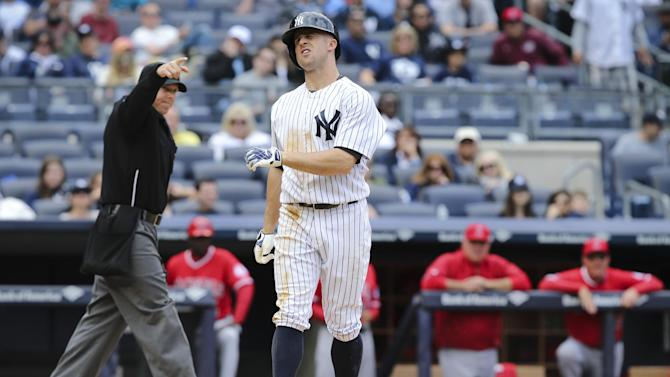 Gardner, Solarte sit out for Yankees with injuries