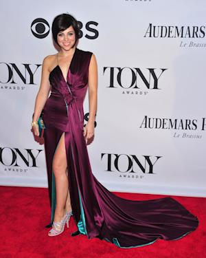 "FILE - This June 9, 2013 file photo shows Krysta Rodriguez at the 67th Annual Tony Awards in New York. Rodriguez is starring in a new musical about a blind date opposite Zachary Levi, who led the TV show ""Chuck."" (Photo by Charles Sykes/Invision/AP, File)"