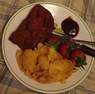 P K&amp;#39;s Marinated Steak