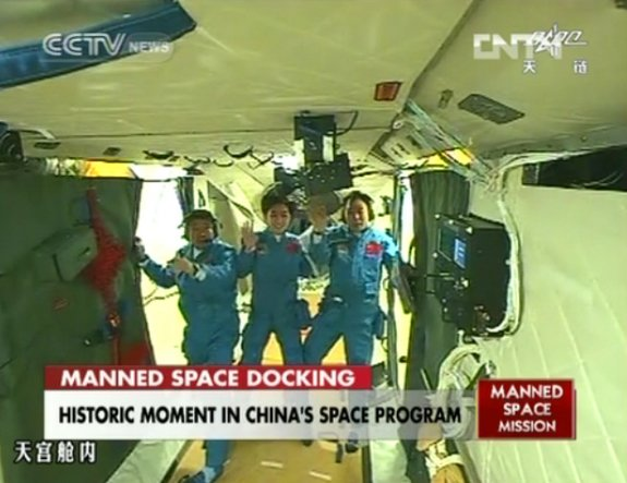 You've Got Mail! Chinese Astronauts Get Email in Space