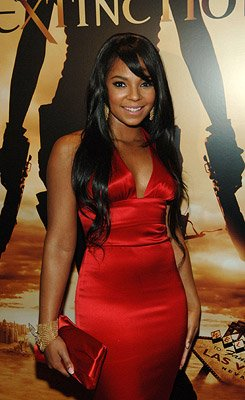 Ashanti at the Planet Hollywood Las Vegas premiere of Screen Gem's Resident Evil: Extinction