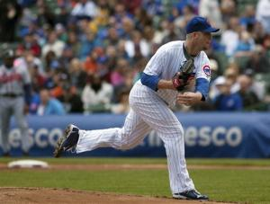 Cubs beat Braves 1-0 behind Maholm