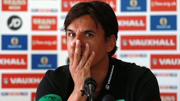 Kit Symons insists the late arrival of Chris Coleman, pictured, will not affect Wales