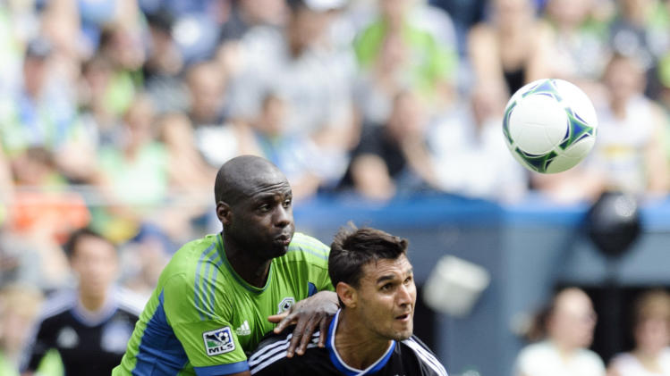 MLS: San Jose Earthquakes at Seattle Sounders