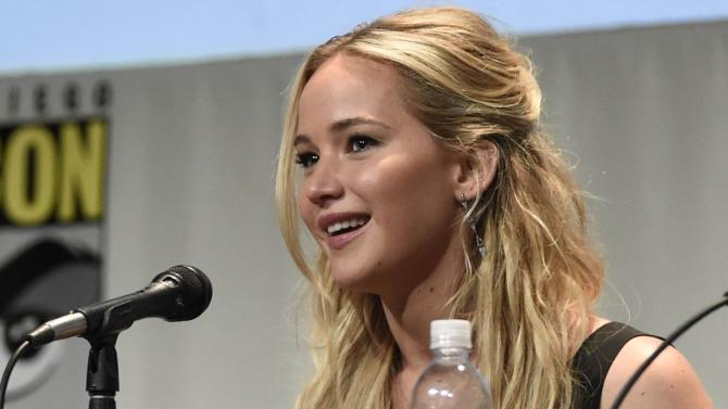 Jennifer Lawrence scolded Conan O'Brien at Comic-Con and everyone cheered