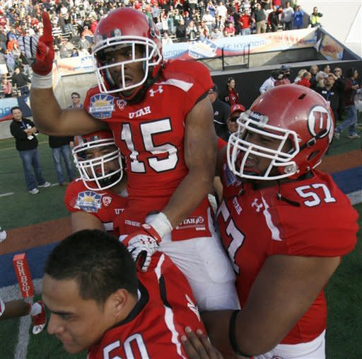Utah comes back, beats GaTech 30-27 in OT Sun Bowl
