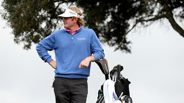 Brandt Snedeker waits to hit a tee shot (AFP)