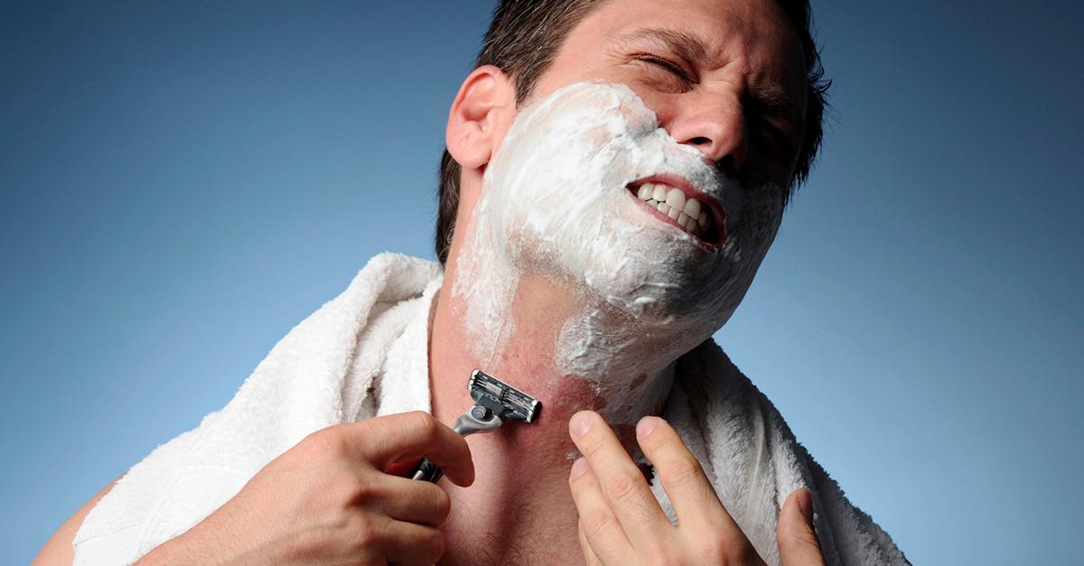 Cheating on your razor? This guy paid the price.