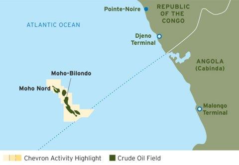 Chevron Makes Final Investment Decision on Moho Nord Joint Development Offshore Republic of the Congo