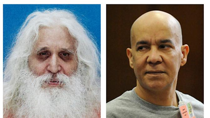 In this combination of two file photos, convicted child molester Jose Antonio Ramos, left, and Pedro Hernandez, right, who is accused of abducting and killing six-year-old Etan Patz in 1979 are shown. A Pennsylvania judge on Friday, Oct. 25, 2013 ordered now-jailed Ramos to appear at Pedro Hernandez' trial in 2014, The Citizens' Voice of Wilkes-Barre, Pa., reported. Ramos was long the prime suspect in Patz's disappearance. (AP Photo)