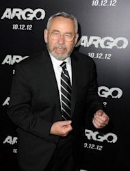 "Former CIA officer Tony Mendez arrives at the premiere of ""Argo"" in Los Angeles on October 4. Ben Affleck's latest movie tells the incredible story of Hollywood's role in an attempt to get a group of US diplomats out of Iran during the 1979 hostage crisis. Affleck plays Mendez, a real-life former spy who was heavily involved in the movie's production and even makes a brief appearance on screen"