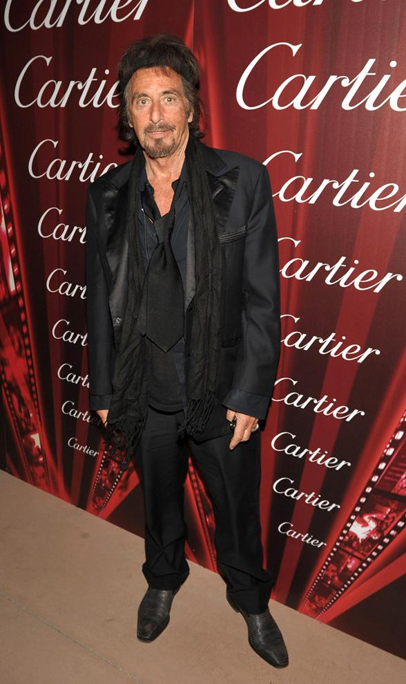 2012 Palm Springs Film Festival Awards Gala Al Pacino