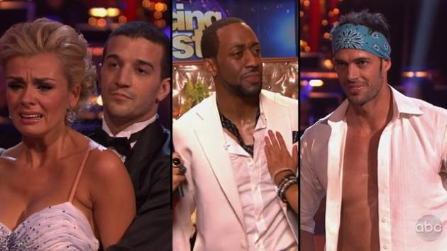 Mark Ballas comforts Katherine Jenkins; Jaleel White gets emotional; William Levy shows off his toned torso on 'Dancing with the Stars,' April 2, 2012 -- ABC