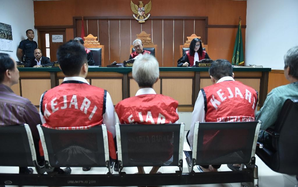 Indonesia jails three Hong Kong men for drugs