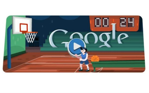 Shoot Hoops With Tomorrow's Interactive Google Doodle