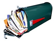 Research: Marketers Decreasing Direct Mail Spend...Sort Of image direct mail1