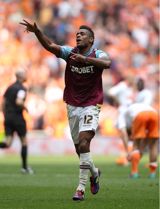 Ricardo Vaz Te scored West Ham's second goal in Monday's win over QPR