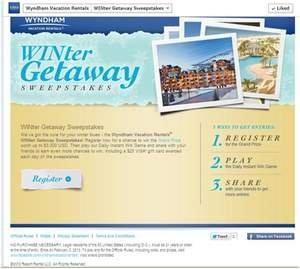 Make It a WINter to Remember With Getaway Sweepstakes on Facebook From Wyndham Vacation Rentals(R)