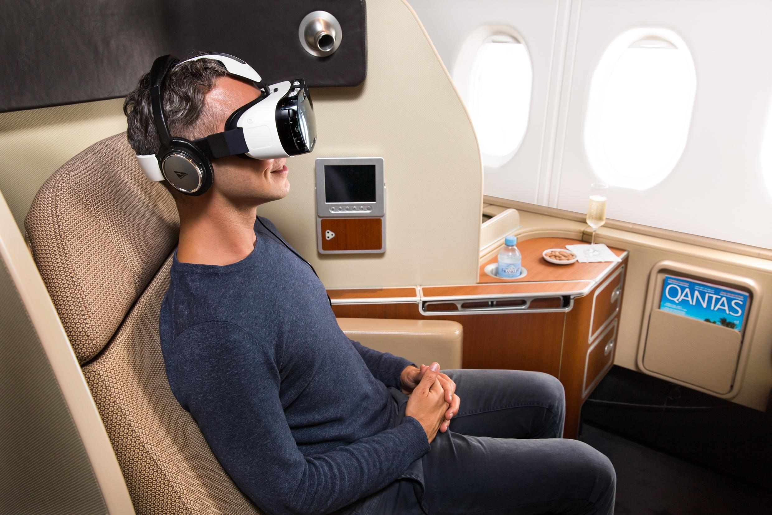 In-Flight VR Coming to Australian Airline