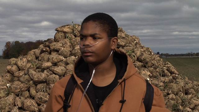 Young man's dying wish to go sugar beet farming fulfilled