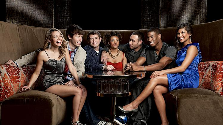 "The cast of ""Real World: Las Vegas."""