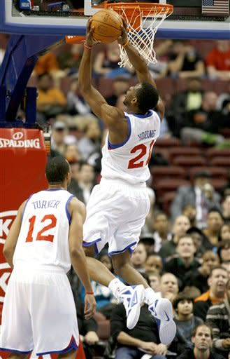 76ers dominate early and rout Wizards 103-83