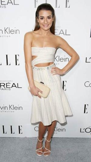 Lea Michele attends ELLE's 20th Annual Women in Hollywood Celebration at the Four Seasons Hotel Los Angeles at Beverly Hills on October 21, 2013 in Beverly Hills -- Getty Images