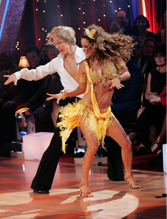 Derek Hough and Brooke Burke …