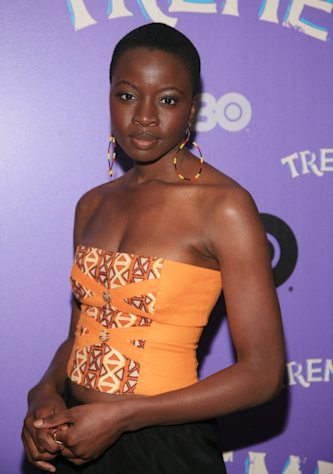 Danai Gurira attends the 'Treme' New York Premiere at The Museum of Modern Art, NYC, on April 21, 2011 -- Getty Images