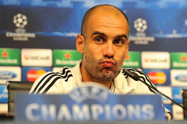 Soccer - UEFA Champions League - Group D - Manchester City v Bayern Munich - Bayern Munich Press Conference and Training - Etihad Stadium