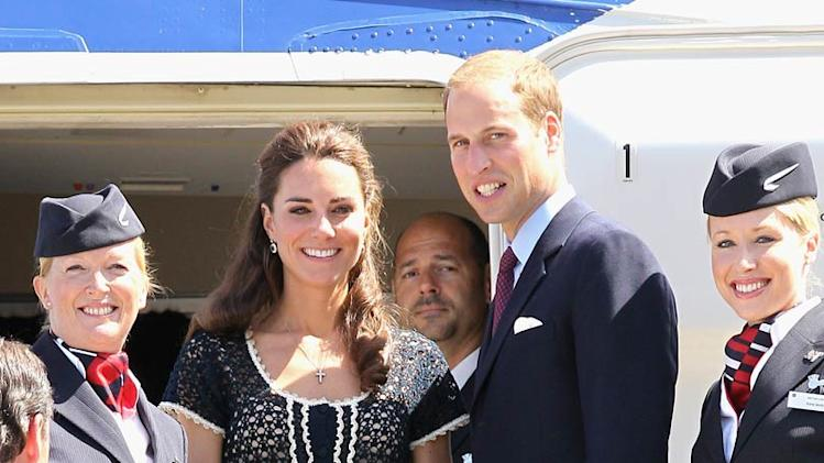 Prince William Middleton LeavingLA