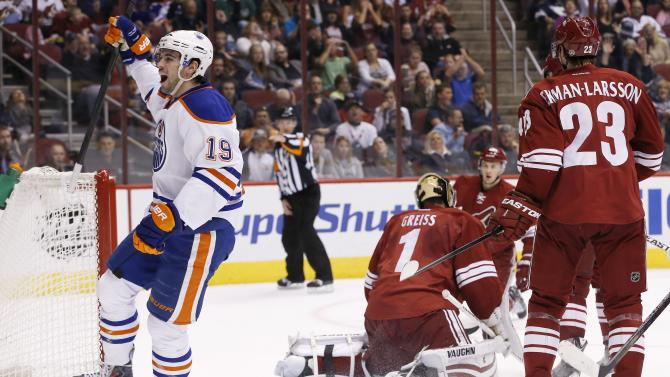 Gagner leads Oilers past Coyotes in SO