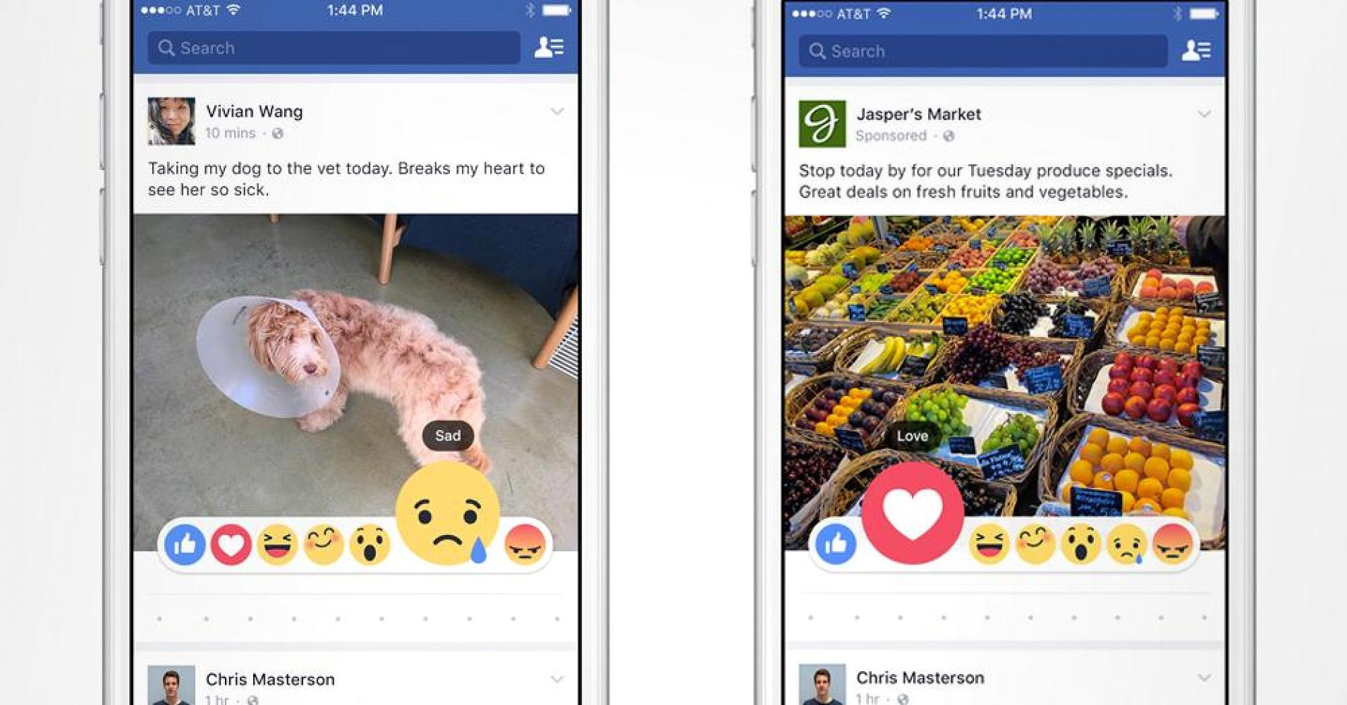 Facebook may let you 'like' with an emoji