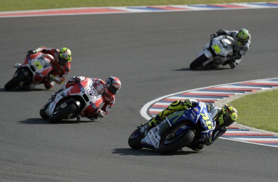 Rossi wins dramatic Grand Prix of Argentina